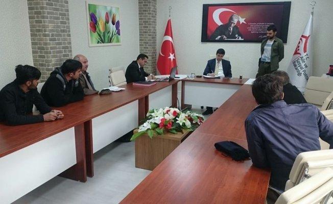 Malazgirt'te 'Halk' toplantısı