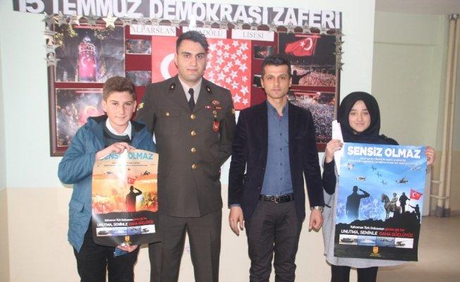 Malazgirt'teki lise öğrencilerine askeri okullar anlatıldı