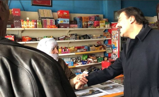 """Milletvekili Aydemir: """"Bu asil millete hizmet boynumuzun borcudur"""""""