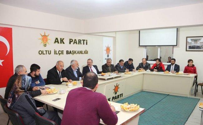 Milletvekili Deligöz, Ak Parti teşkilatını dinledi
