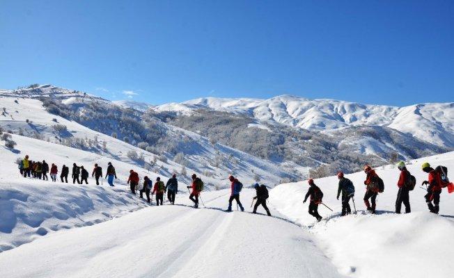 Muş'a gelen 142 dağcı eğitimlere başladı