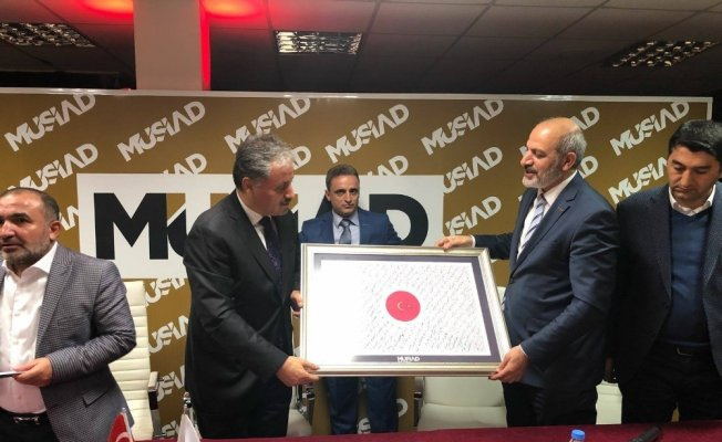 MÜSİAD 'Dost Meclisi'nin konuğu Başkan Çakır oldu