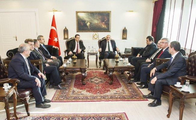 Müsteşar Yardımcısı İsmail Yücel'den Vali Zorluoğlu'na ziyaret