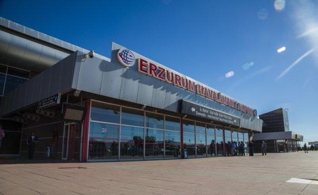 Ocak ayında Erzurum Havalimanı'nda 141 bin 553 yolcuya hizmet verildi