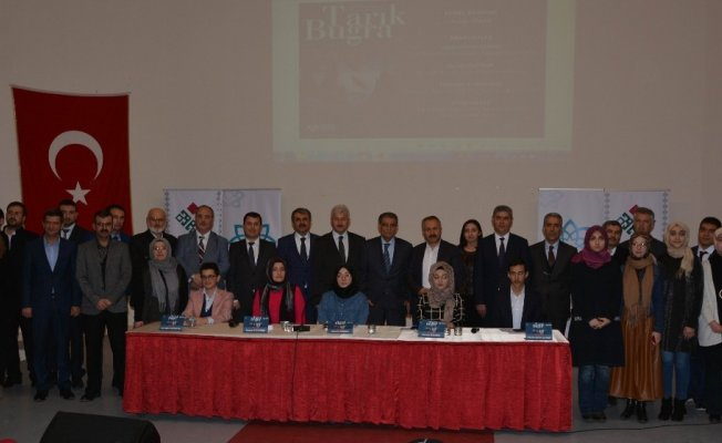 Öğrenciler Tarık Buğra'yı anlattı