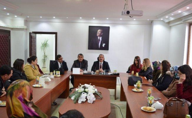 Öğretmenlerden Başkan Necati Gürsoy'a ziyaret