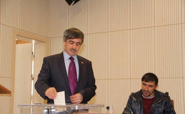 Oltu Muhtarlar Derneği Başkanı Bektaş Güven tazeledi
