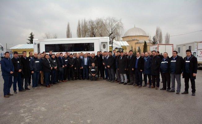 Öz Taşıma İş Sendikası'ndan Mehmetçikler için kan bağışı