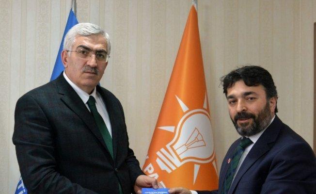 Saadet Partisi Erzurum İl Başkanı Faik Çalık'ın Ak Parti ve MHP ziyareti