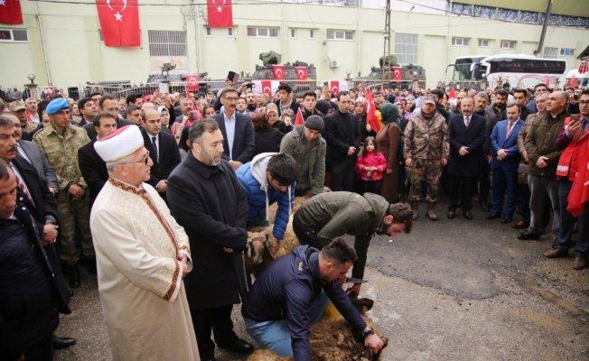 Siirt'te 60 özel harekat polisi Afrin'e uğurlandı