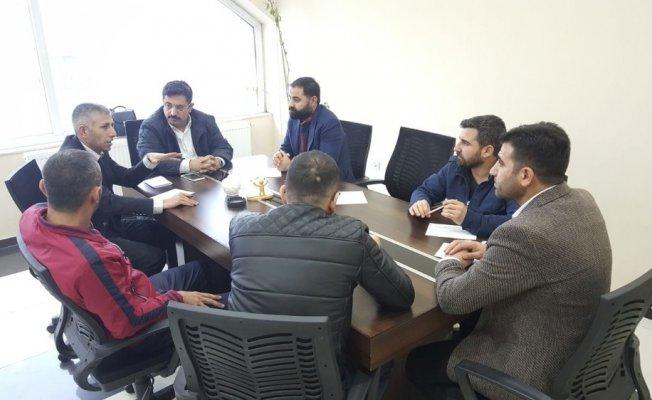Tatvan'da tekstil firmalarının sıkıntıları masaya yatırıldı