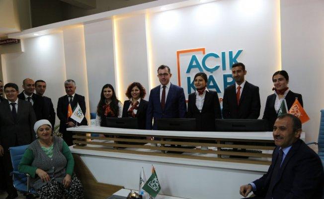 """Tunceli'de """"Açık Kapı"""" projesi uygulamaya geçti"""