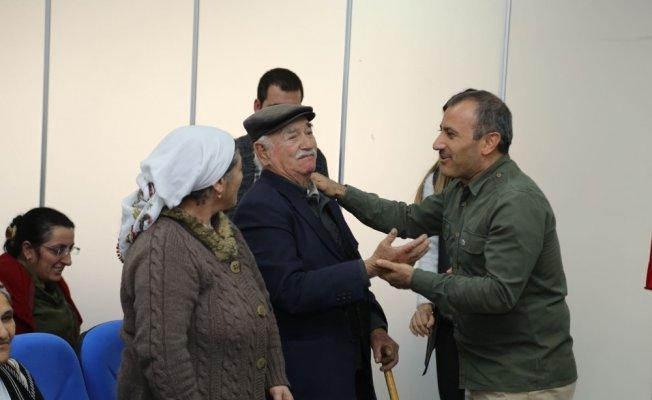 Tunceli'de ihtiyaç sahipleri ev sahibi oldu