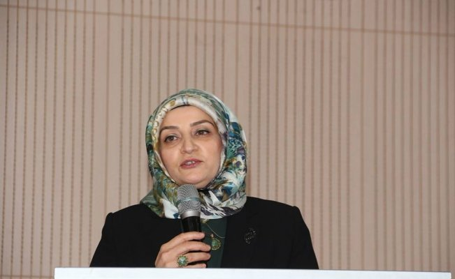 Türkiye'nin ikinci ESOB kadın başkanı Oltu'da seçildi