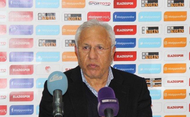 TY Elazığspor - AÇ Giresunspor maçının ardından