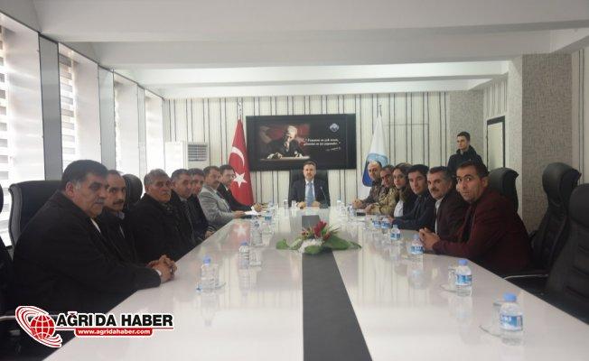 Vali Elban Başkanlığında Güvenli Eğitim Toplantısı Gerçekleştirildi