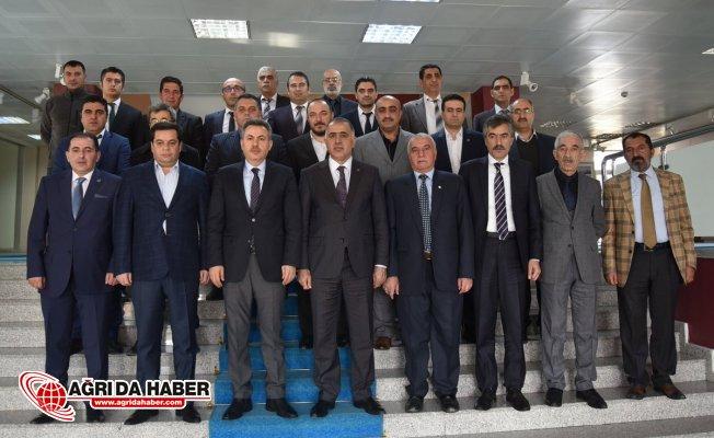 "Vali Süleyman Elban: ""STK'lar Şehrin Aynası Konumundadır"""