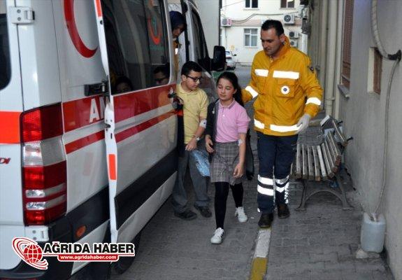 Van Çaldıran'da 9 Kişi zehirlenme şüphesi