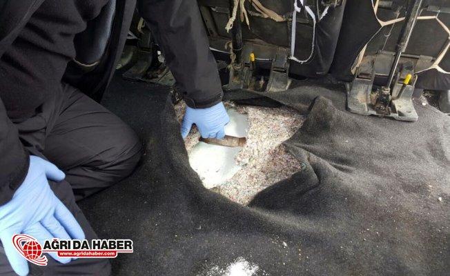 Van'da Narkotik Operasyonu! 88 kilo 456 gram Eroin yakalandı