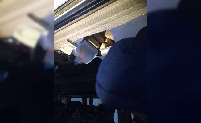 Van'da Narkotik Ekibi bir minibüste 31 kilo eroin ele geçirdi