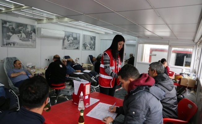Varto'da kan bağışı kampanyası
