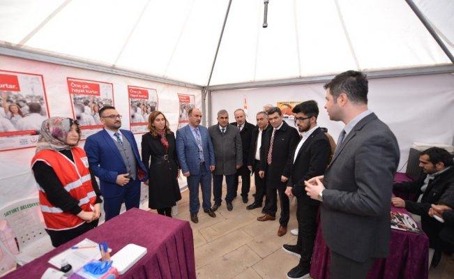 Malatya Yeşilyurt'tan Lösemi hastaları için farkındalık etkinliği