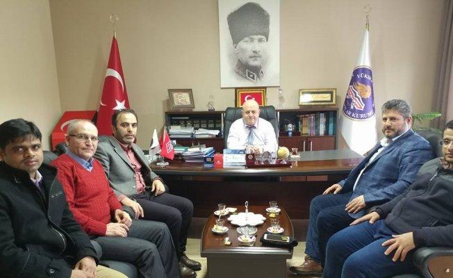 YUDER'den KYK Eskişehir İl Müdürü Kurt'a ziyaret