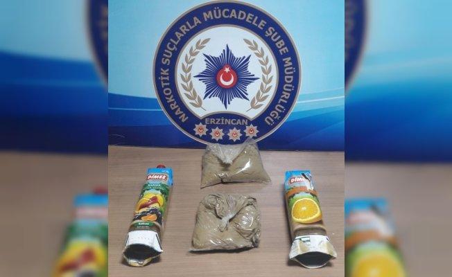 Zehir taciri Erzincan'da yakalandı