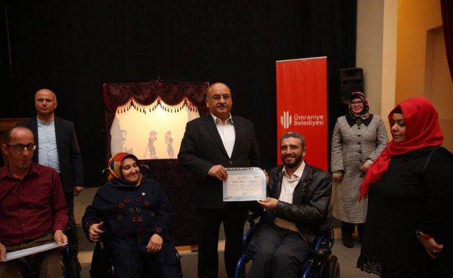 500 Yıllık Gölge Oyunu engelli vatandaşlarca sahnelendi