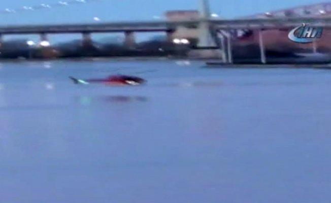 ABD'deki helikopter kazasında pilot kurtuldu