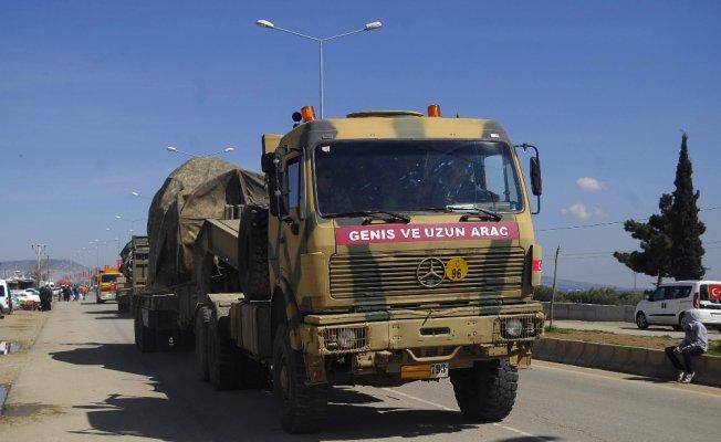 Afrin'e sevkiyat sürüyor