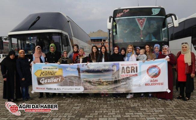 Ağrı'da Kültür Gezileri Başladı Ağrılı Kadınlar Van'ı Gezdi