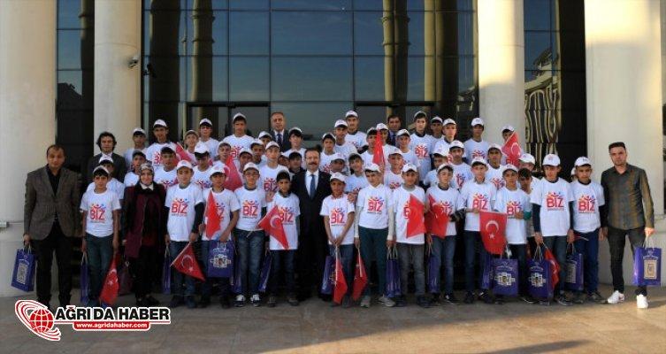 Ağrı'dan giden 50 öğrenci Kocaeli'yi gezecek