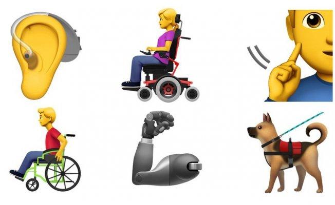 Apple'dan engellilere özel 13 yeni emoji