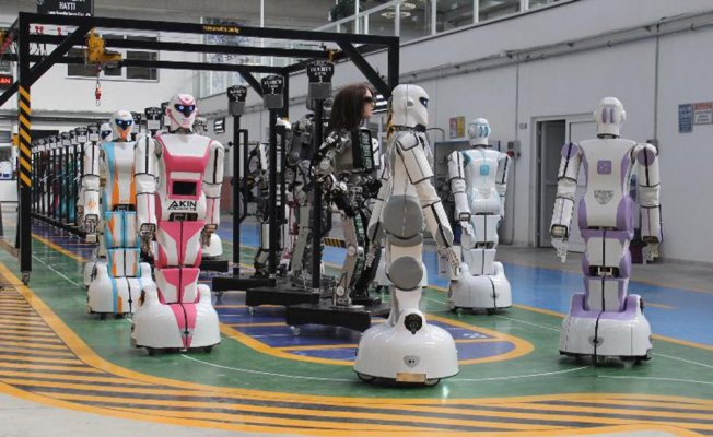 """""""Asker robot üretimine hazırız"""""""