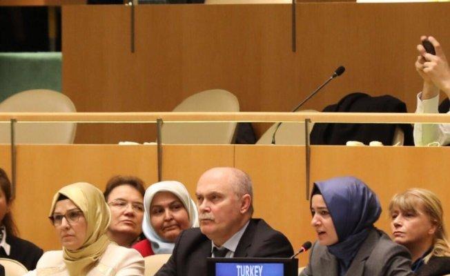 Bakan Kaya, BM Genel Kurulu'na seslendi