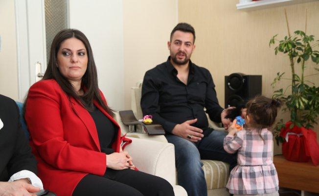 Bakan'dan Afrin gazisine ziyaret