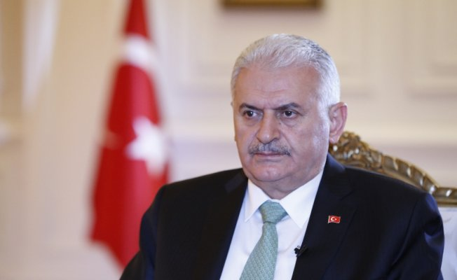 Başbakan Yıldırım Aliyev ile görüştü
