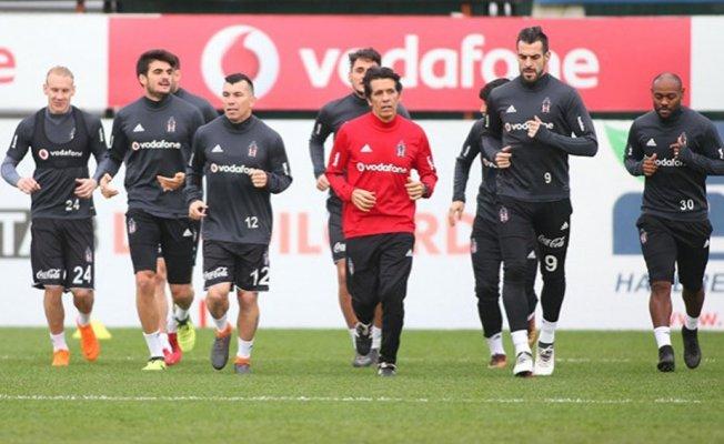 Beşiktaş Başakşehir maçı hazırlıklarını tamamladı