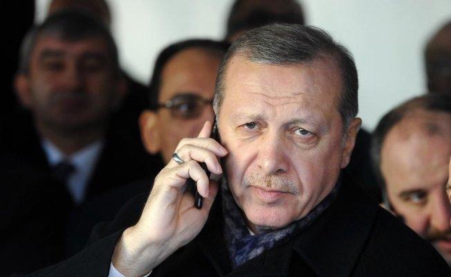 Cumhurbaşkanı Erdoğan'dan milli eskrimciye tebrik telefonu