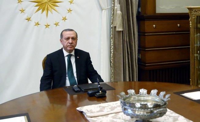 Erdoğan, down sendromlu sporcuları kabul etti