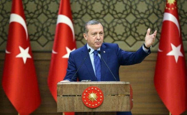 Erdoğan müftülerle görüştü