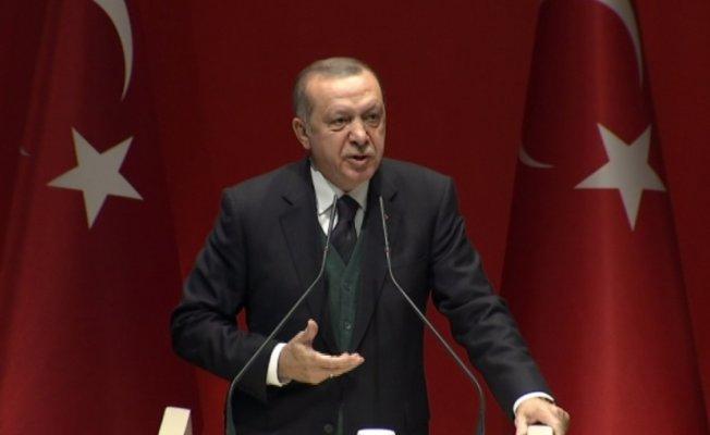 Erdoğan'dan Macron'a tepki
