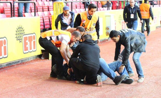 Eskişehirsporlu yönetici kalp krizi geçirdi