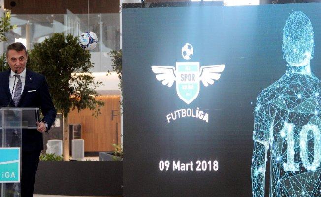 Fikret Orman FutbolİGA turnuvasının kura çekimine katıldı