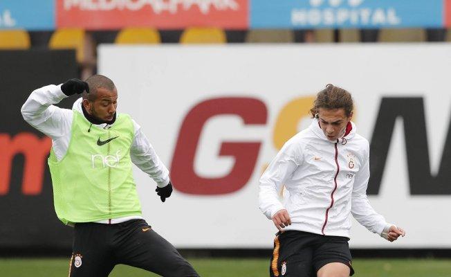 Galatasaray Trabzonspor maçı hazırlıklarını sürdürdü