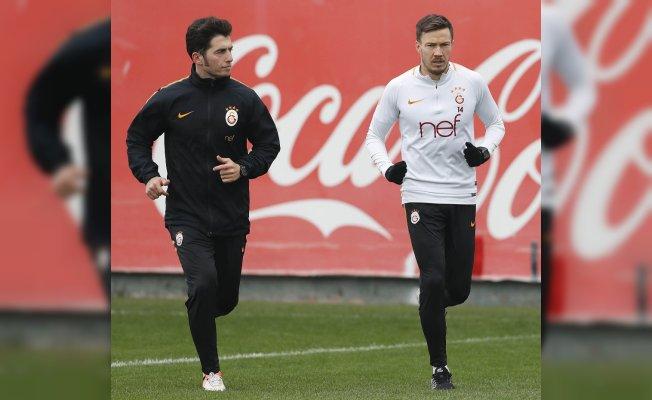 Galatasaray Trabzonspor maçının hazırlıklarına devam etti