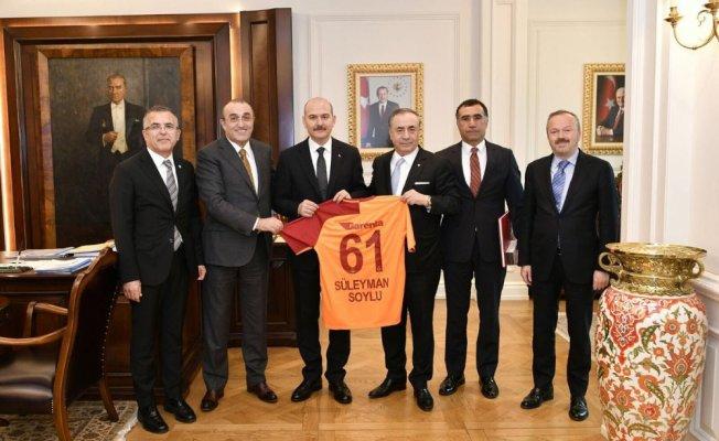 Galatasaray yönetiminden Ankara'ya ziyaret