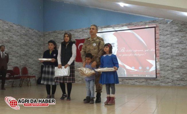 Hamur'da 12 Mart İstiklal Marşının Kabulü Programı