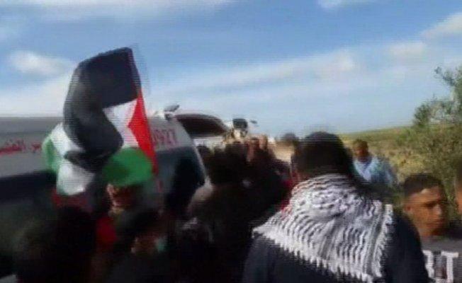 İşgalci İsrail askerleri yine saldırdı